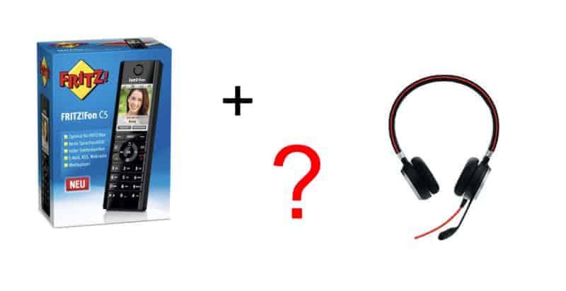 Fritzfon C5 und Headset