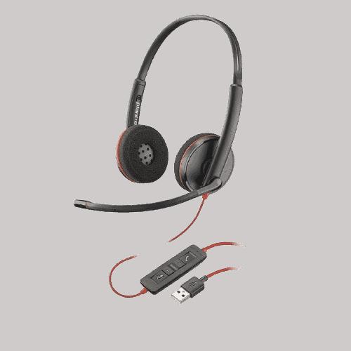 Plantronics Poly Headset Blackwire 3220