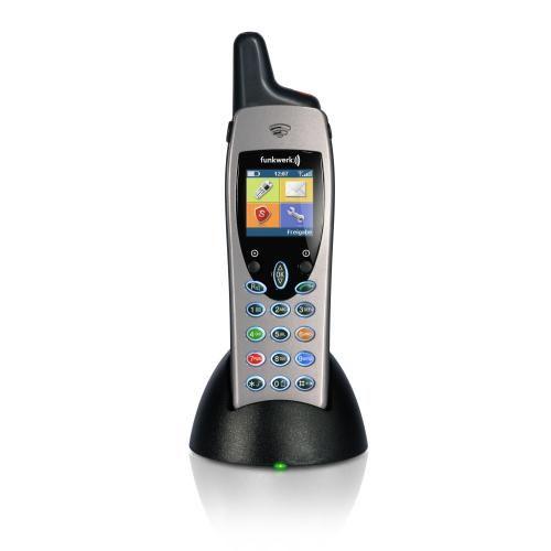 Funkwerk / Funktel FC4 S DECT Telefon Set mit Ladeschale