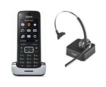 Gigaset SL450HX DECT Telefon für FritzBox inkl. schnurlosem Freevoice Nimbus II Bluetooth Headset