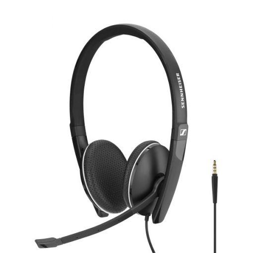 Sennheiser SC 165 binaurales Headset mit 3,5 mm Klinkenstecker