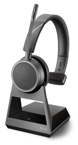 Poly Voyager 4210 Office Bluetooth Headset für Festnetztelefon und Mobiltelefon