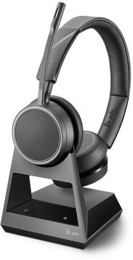 Plantronics Poly Bluetooth Headset Voyager 4220 Office USB, 2-way Base