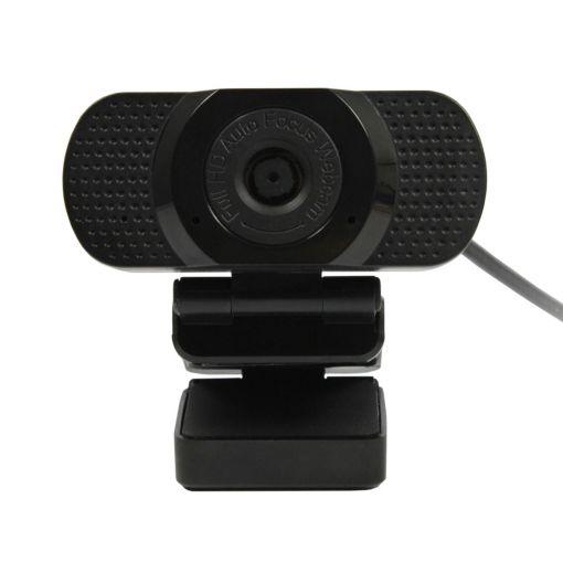 Plusonic USB Webcam Full-HD mit Autofokus