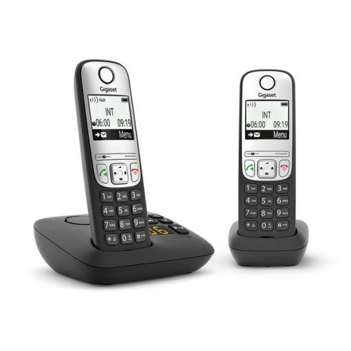 Gigaset A690 A Duo Schnurlostelefon, schwarz