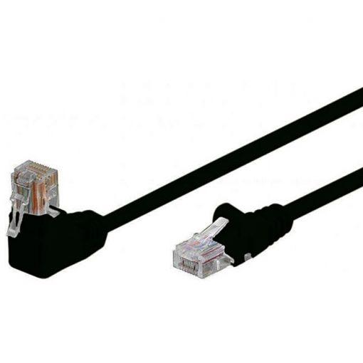 shiverpeaks Patchkabel S/FTP Cat.6 PIMF Winkel schwarz 7,5m
