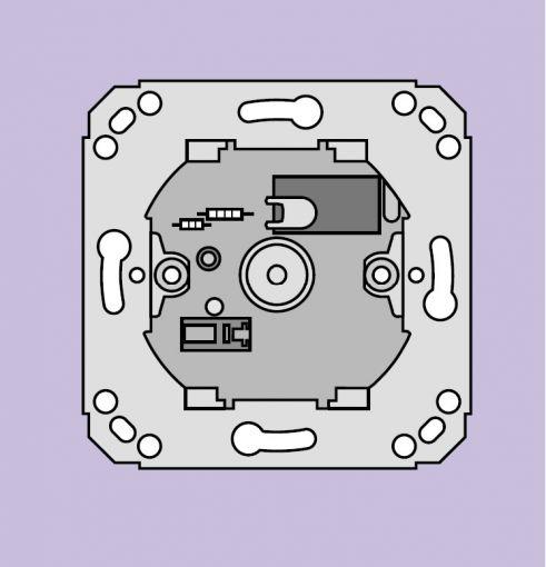 Ackermann Abstelltaster AW1 LED -grün- für A+R-Strom