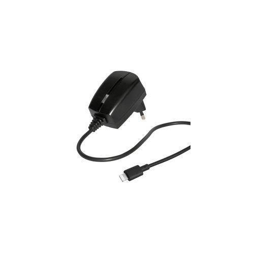 Reiseladegerät Lightning mit Apple Lizenz, schwarz, für iPod touch (5. Generation), iPod Nano (7. Generation) und iPhone 5