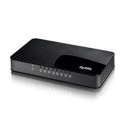 ZyXEL - GS-108SV2 8-Port Desktop Gigabit Ethernet Media Switch