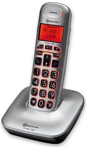 amplicomms BigTel 1200 Schnurlostelefon mit großem Display