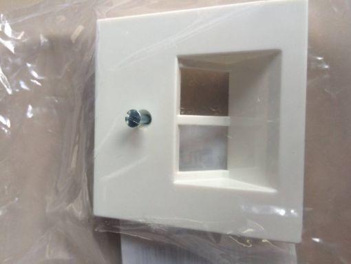 Avaya Secom Abdeckung Design Jung AS 500 für Dialler, reinweiss