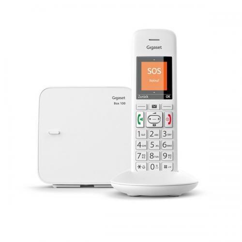 Gigaset E370 Schnurlostelefon, weiß