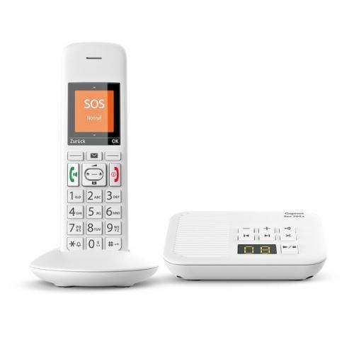 Gigaset E370A Schnurlostelefon, weiß