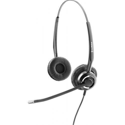 freeVoice SoundPro 310 zweiohriges schnurgebundenes Headset