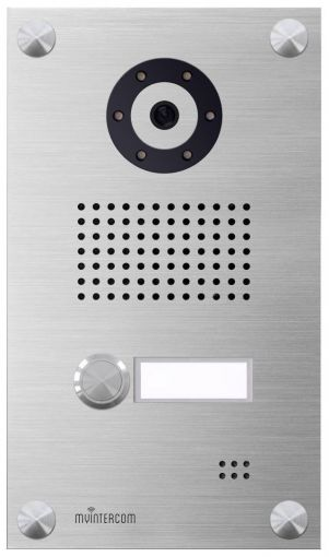 myintercom IP-Video Türstation One (Edelstahl Edition)