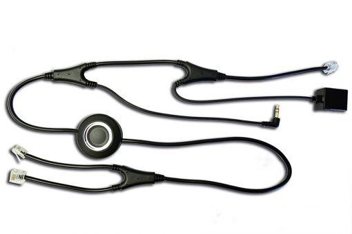 freeVioce EHS Kabel für Alcatel 40x8 und 80x8 Series mit Cordless Headsets