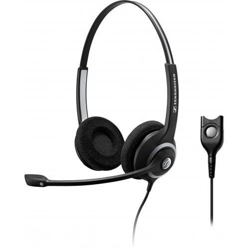 Sennheiser SC 262, schnurgebundenes binaurales Headset, ED, low Impedanz