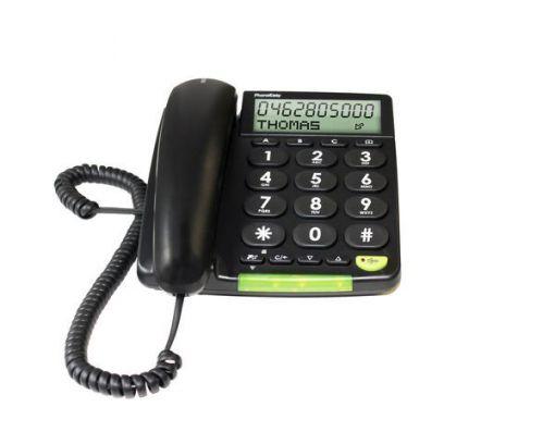 doro PhoneEasy312cs analog Telefon, schwarz