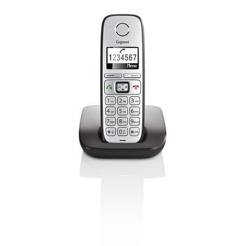 Siemens Gigaset E310 Schnurlostelefon, anthrazit