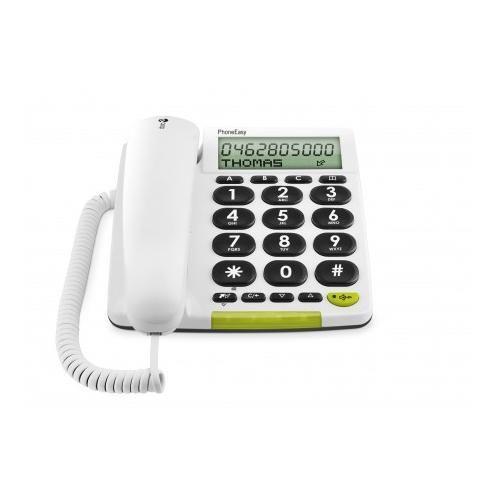 doro Großtastentelefon PhoneEasy312cs, weiß_1