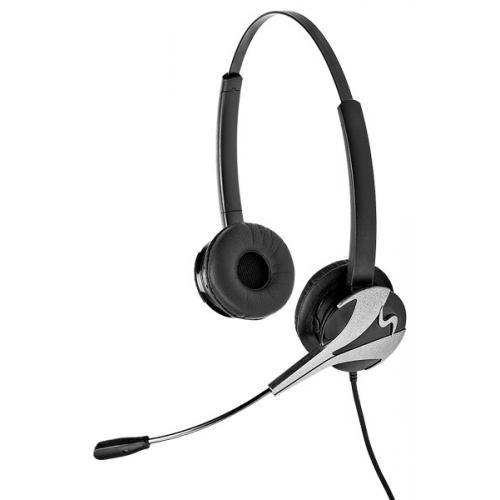 freeVoice Wings NC Duo schnurgebundenes Headset