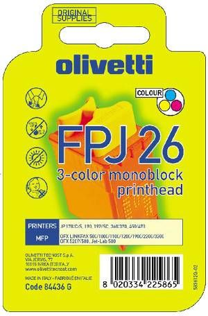 Olivetti Druckkopf  FPJ26   3-farbig