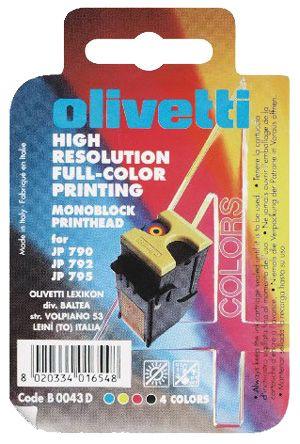 Olivetti Druckkopf B0043,  4-farbig
