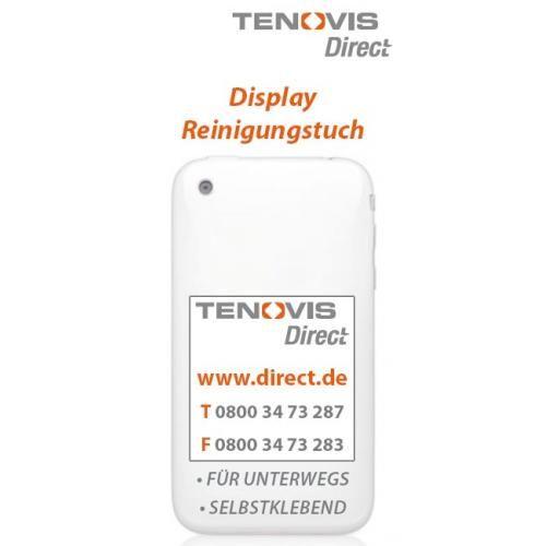 Tenovis Direct Display Reinigungstuch, selbsthaftend