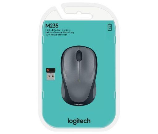 Logitech Maus M235, Wireless, Unifying, Optisch