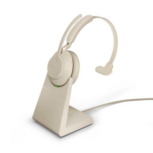 Jabra Evolve2 65 mono MS USB-C Bluetooth Headset inklusive Ladeschale
