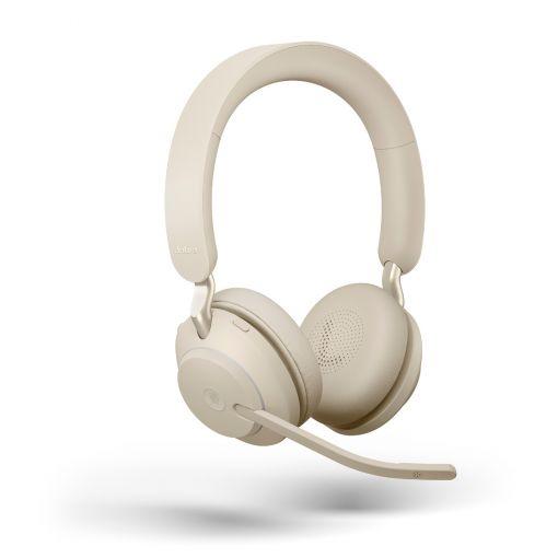 JABRA Evolve2 65 Stereo MS USB-C Bluetooth Beige