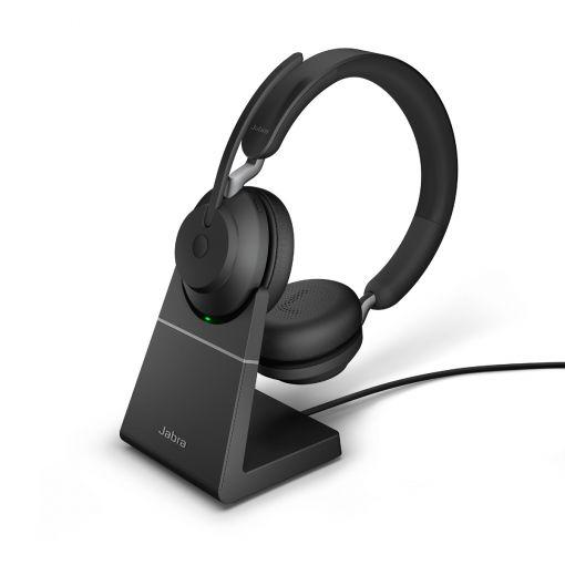 Headset Jabra Evolve2 65 Stereo mit Ladeschale