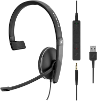 Sennheiser SC 135 USB mit abnehmbarer In-Line Call Control