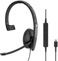 Sennheiser SC 130 USB-C monaural mit Call Control am Kabel
