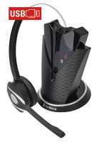freeVoice Fox FX840UCM DECT - monaurales schnurloses Dect Headset - USB-A