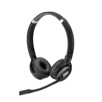 Epos Impact SDW 5061 binaurales Headset inkl. USB DECT Dongle, Ladekabel & Tasche