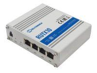 Teltonika RUTX10 Ethernet Router, 4x Gigabit LAN Port, Dual Band WiFi