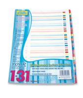 Pukka Pad Register A4, numeriert