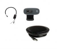Home Office Bundle: Jabra Evolve 20 + Jabar speak 410 + Logitech C720 Kamera