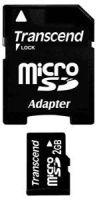 Transcend 2GB microSD + SD-Adapter