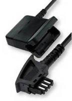 Verlängerungskabel TAE/F-Stecker auf TAE/F-Kupplung für Telefone, 6m