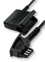Verlängerungskabel TAE/F-Stecker auf TAE/F-Kupplung für Telefone, 10m