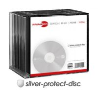 PRIMEON CD-R 80Min/700MB/52x Slimcase (10 Disc)