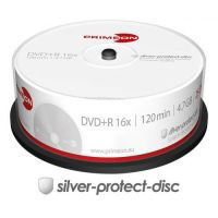 PRIMEON DVD+R 4.7GB/120Min/16x Cakebox (25 Disc)
