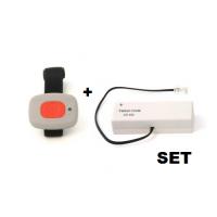 Avaya Secom Fufi Wrist Sender & Empfänger für BWW 433 als Bundle