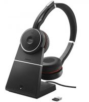 Jabra Evolve 75 Duo ANC Headset inkl. Ladeschale