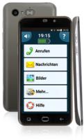 amplicomms Smartphone PowerTel M9500 - Smartphone für Senioren