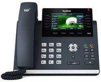 Yealink SIP-T46S VoIP-Telefon mit Gigabit-Ethernet, TFT Farbdisplay