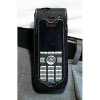 CasYy Nylontasche für Avaya DECT 3725 mit Rotationsclip, schwarz