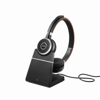 JABRA Evolve 65 MS binaural USB NC mit Ladestation
